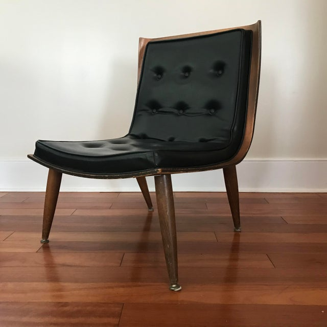 1950s Mid-Century Modern Carter Brothers Scoop Chair For Sale - Image 13 of 13