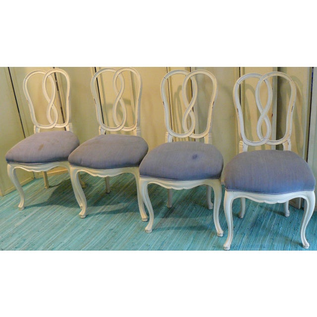Early 20th Century Pretzel Chairs- Set of 4 For Sale - Image 12 of 12