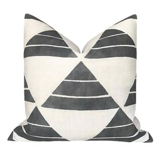Black Uroko Pillow Cover For Sale