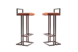 Image of Hollywood Regency Bar Stools