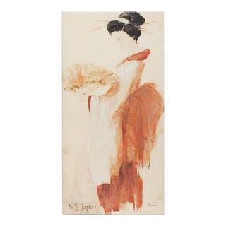 N5 Japan Giclee by F. De Villeneuve
