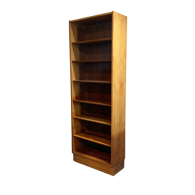 Vintage Danish Rosewood Bookcase For Sale - Image 4 of 6