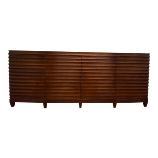 Barbara Barry for Baker Low Fluted Cabinet For Sale