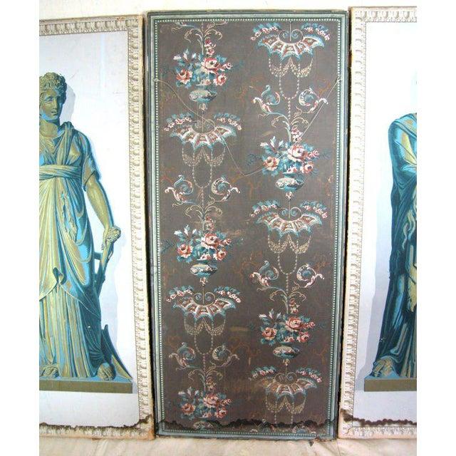 Greek Goddesses Wallpaper Panels - Set of 4 For Sale - Image 9 of 11
