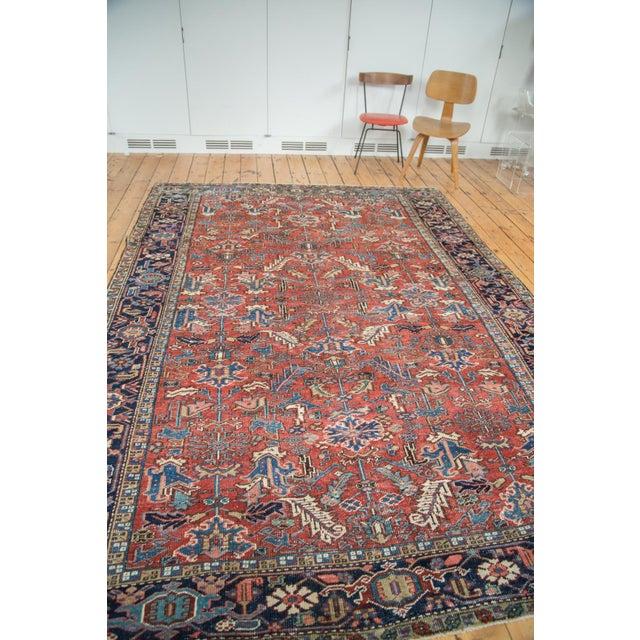 "Vintage Heriz Carpet - 7'6"" X 11'1"" - Image 6 of 10"