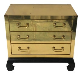 Image of Brass Dressers and Chests of Drawers