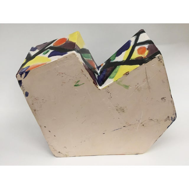 1990s Ceramic Sculptural Object For Sale - Image 4 of 7