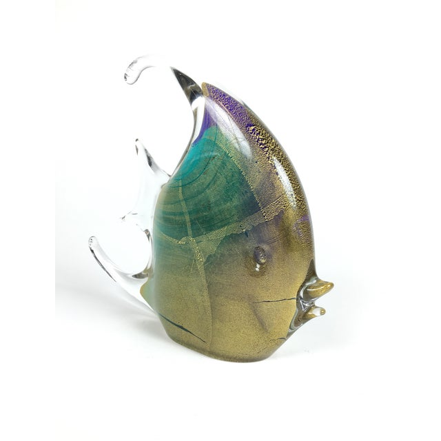 1980s Murano Glass Fish For Sale - Image 5 of 5