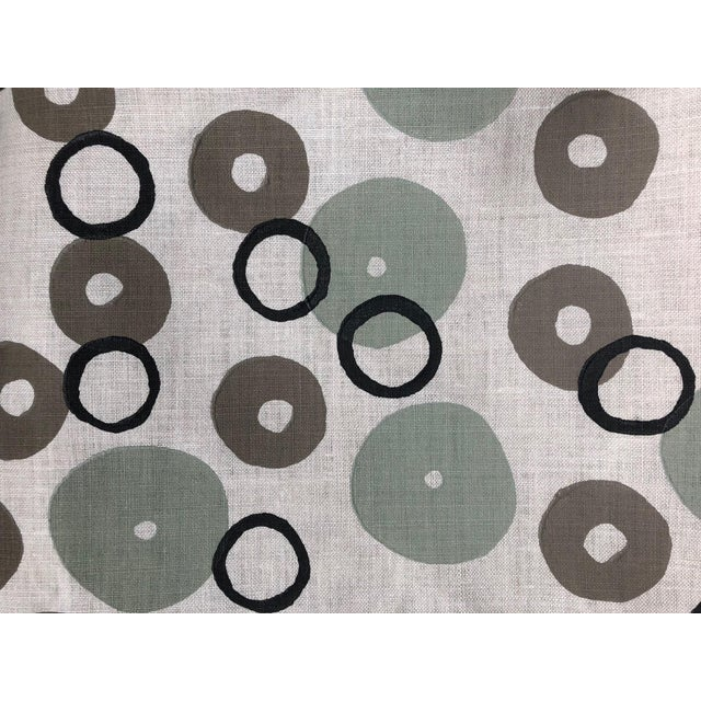 Contemporary Galbraith & Paul Donut Pattern Fabric - 2 Yards For Sale - Image 3 of 3