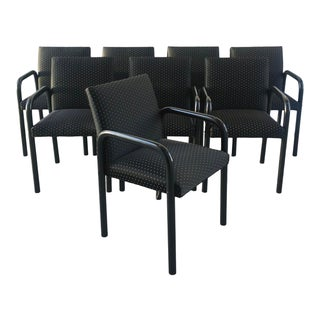 Burkhard Vogtherr Style Italian Chairs/8 For Sale