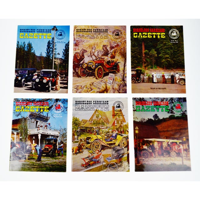 Horseless Carriage Gazette Magazines - 1965 Full Year - Collectible For Sale - Image 10 of 10