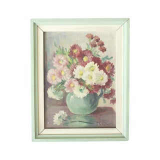 Floral Oil Painting by Frances Brand