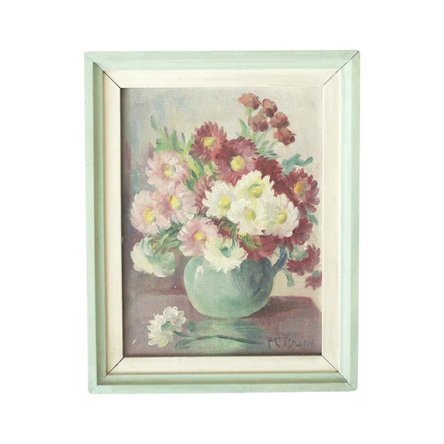 Floral Oil Painting by Frances Brand - Image 1 of 4