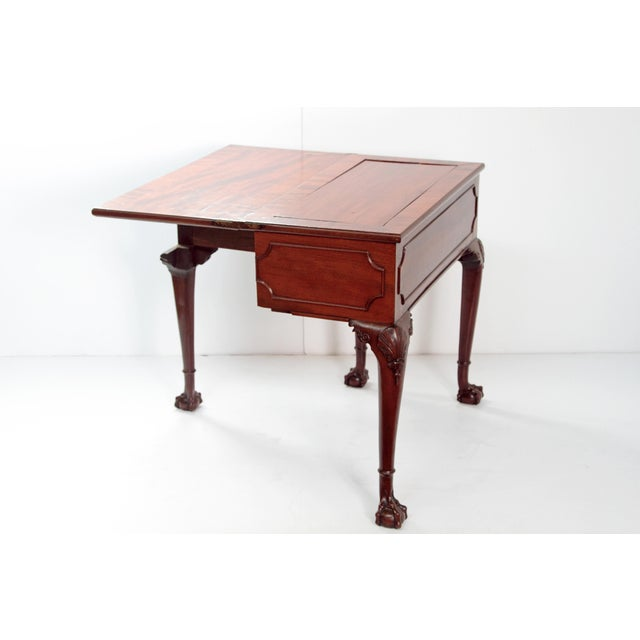 A George II Mahogany Harlequin Table For Sale In Dallas - Image 6 of 13