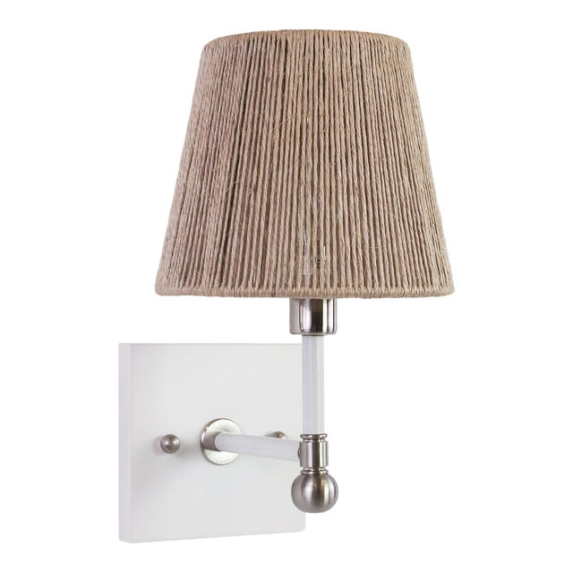 Piper Wall Sconce - Nickel For Sale