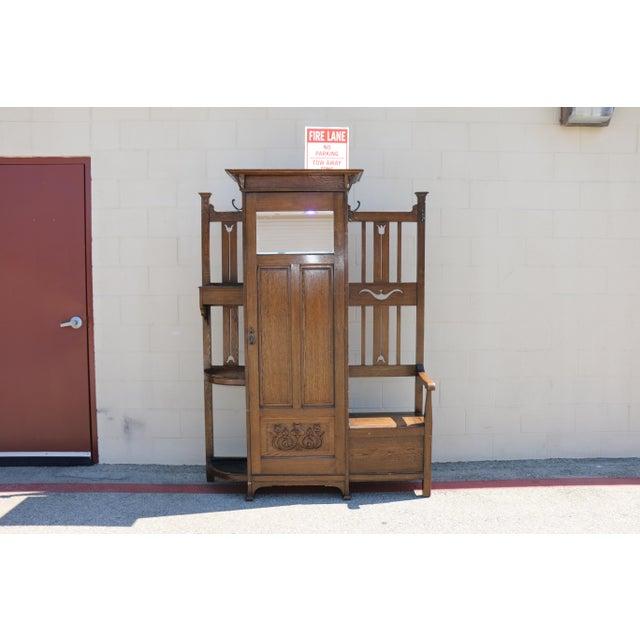 Antique Curio Cabinet - Image 2 of 9