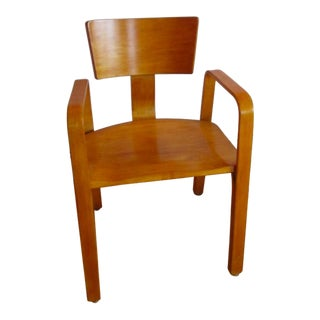 Mid-Century Modern Thonet Bent Plywood Chair
