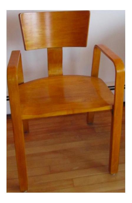 Mid Century Modern Thonet Bent Plywood Chair
