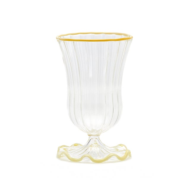 This set of glasses is made to order in Italy and is ready to ship in approximately 14-16 weeks. It is non-refundable....