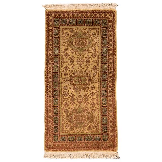 """Vintage Tabriz Rug, 2'2"""" x 4'6"""" For Sale - Image 5 of 5"""