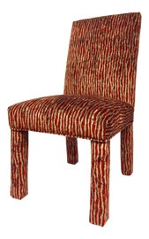 Image of Brick Red Side Chairs