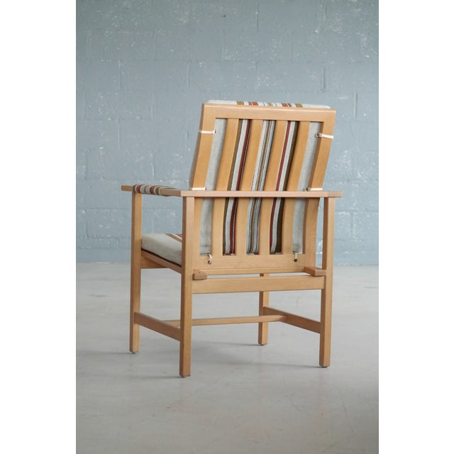 Børge Mogensen Model 2257 1960s Oak Lounge Chair for Fredericia Stolefabrik For Sale - Image 11 of 12