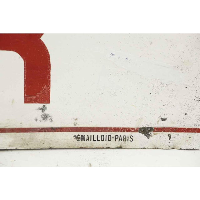 Vintage Reclaimed French No Smoking Wall Sign - Image 2 of 4