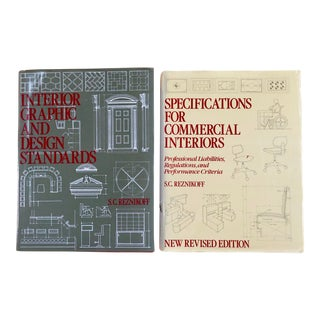 Interior and Design Books - a Pair For Sale