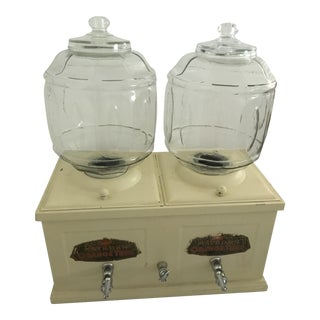 1900s Chrome Countertop Drink Dispenser For Sale