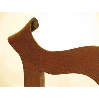 1950s Bench Made Hand Crafted Chippendale Walnut Armchair Preview