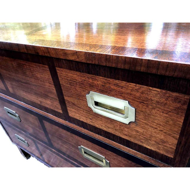 Metal 1970s Baker Milling Road Campaign Sideboard For Sale - Image 7 of 9