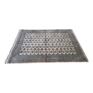 "Pakistani Bokhara Carpet - 10'5"" X 13'5"" Beautiful Mint Condition For Sale"
