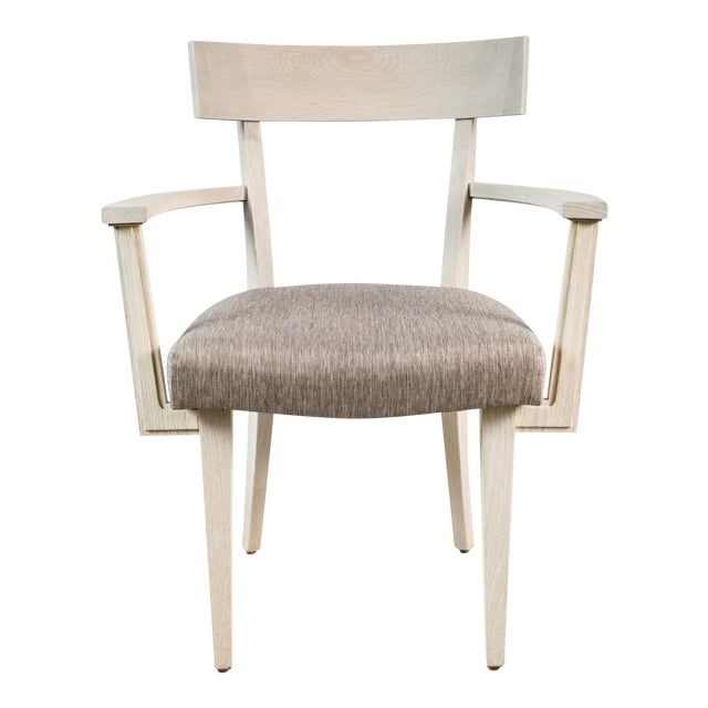 Modern Klismos Chair by Paul Marra For Sale