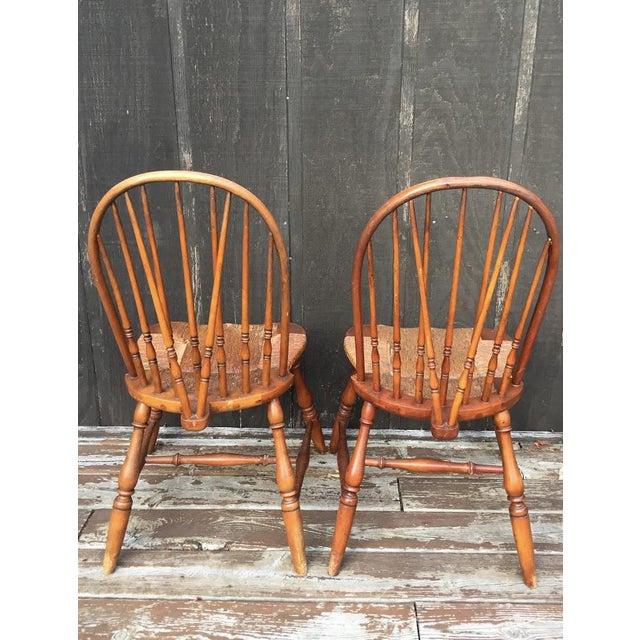 1920s Barnard & Simonds Co. Chairs - Set of 4 - Image 6 of 11