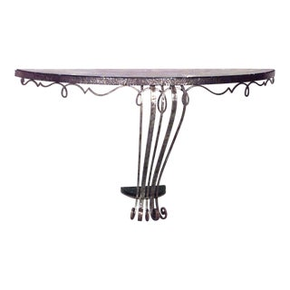 1930s French Art Deco Bracket Console For Sale