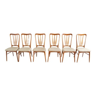 "Koefoeds Hornslet ""Ingrid"" Danish Teak Dining Chairs - Set of 6"
