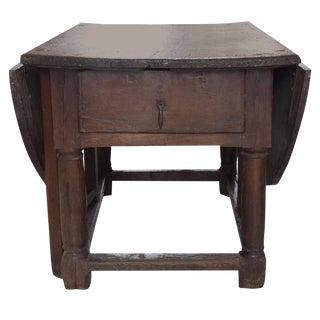 English 18th Century Drop Leaf Table