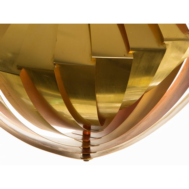 """1960s Vintage Louis Weisdorf Midcentury Iconic """"Conch"""" Pendant Lamp For Sale - Image 5 of 6"""