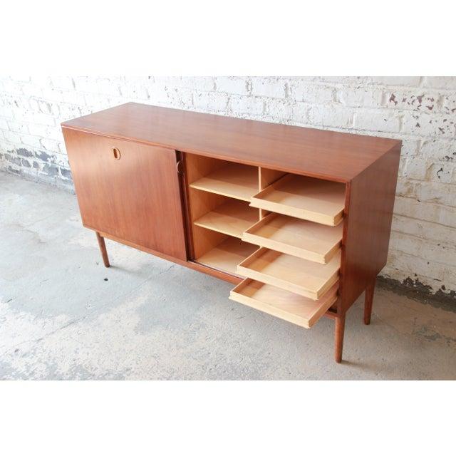 Teak Danish Modern Teak Sideboard Credenza For Sale - Image 7 of 10
