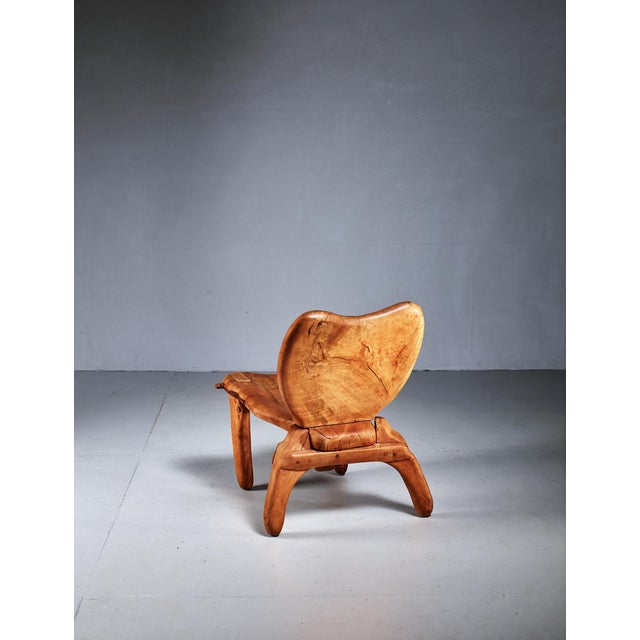 Don Shoemaker Don Shoemaker Studio Craft Wooden Chair, Mexico, 1960s For Sale - Image 4 of 8