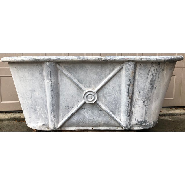 19th Century Antique French Bathtub For Sale - Image 11 of 11