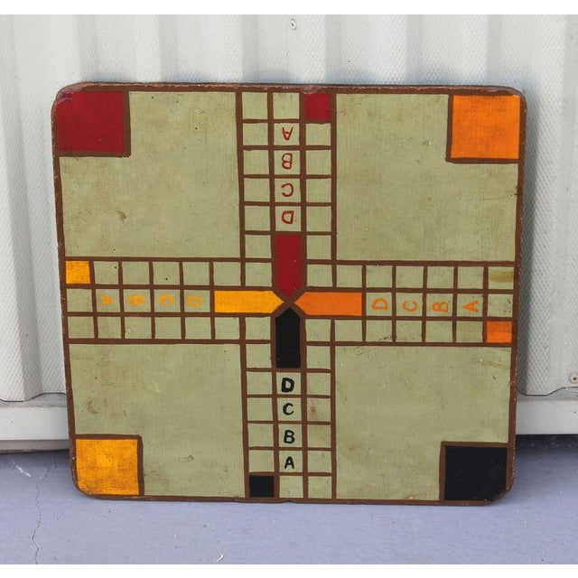 """Original Painted Game Board with """"ABCD"""" For Sale In Los Angeles - Image 6 of 6"""