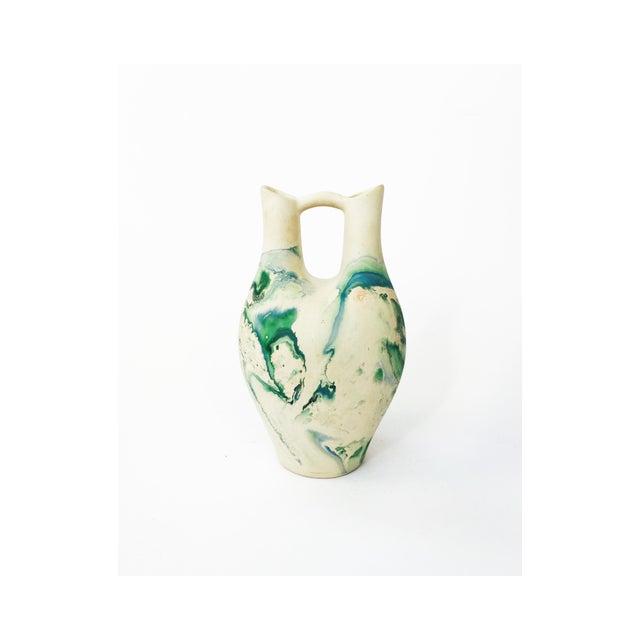 Vintage Large Nemadji Wedding Vase - Image 2 of 6