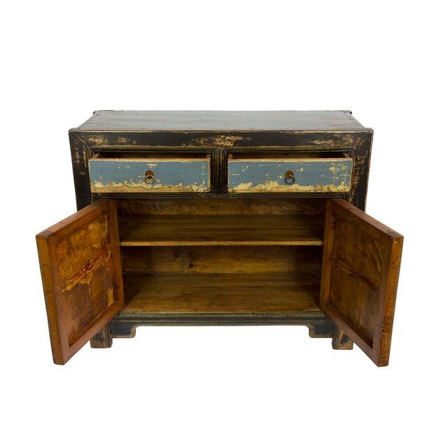 Gansu-Style Blue Antique Cabinet - Image 2 of 5
