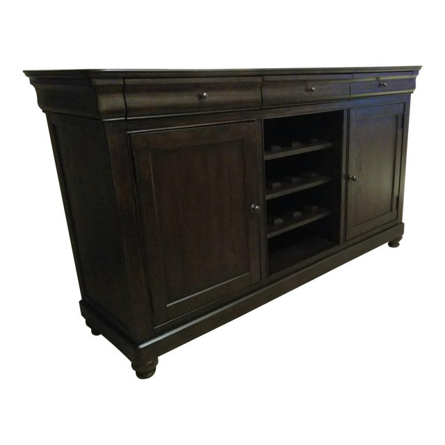French Provence Brown Server - Image 1 of 2