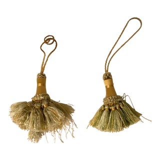 Mackenzie-Childs Porcelain Tassel Tie-Backs - A Pair