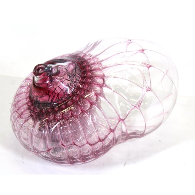 Jorg Zimmermann German Studio Art Glass Sculpture For Sale - Image 4 of 12