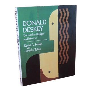 Donald Deskey Decorative Designs and Interiors Hardcover Vintage Decorative Book For Sale