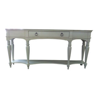 Antique White Console Table For Sale