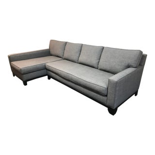 Custom 2 Piece Sectional by Nathan Anthony For Sale